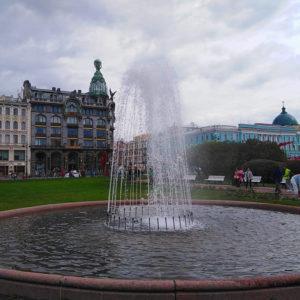 В Санкт-Петербурге отремонтируют 68 фонтанов